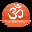 Om waters orange sun logo